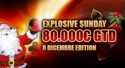 Explosive Sunday Poker